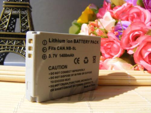 NB-5L Batería o Cargador para Canon PowerShot SX200 SX210 SD700 SD790 SD890 estabilizador de imagen