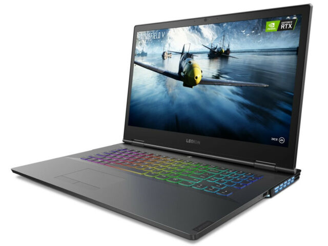 """Lenovo Refurb Legion Y740 17.3"""" FHD G-Sync i7-9750H 16GB 512GB SSD 1TB RTX 2070"""