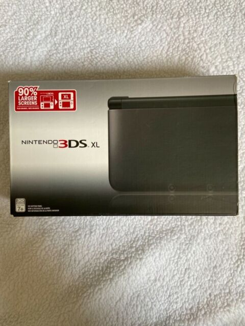 Nintendo 3DS XL Handheld System - Black (Launch Edition) BRAND NEW SEALED