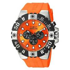 Invicta 23970 Men's Pro Diver Orange Polyurethane Strap Watch
