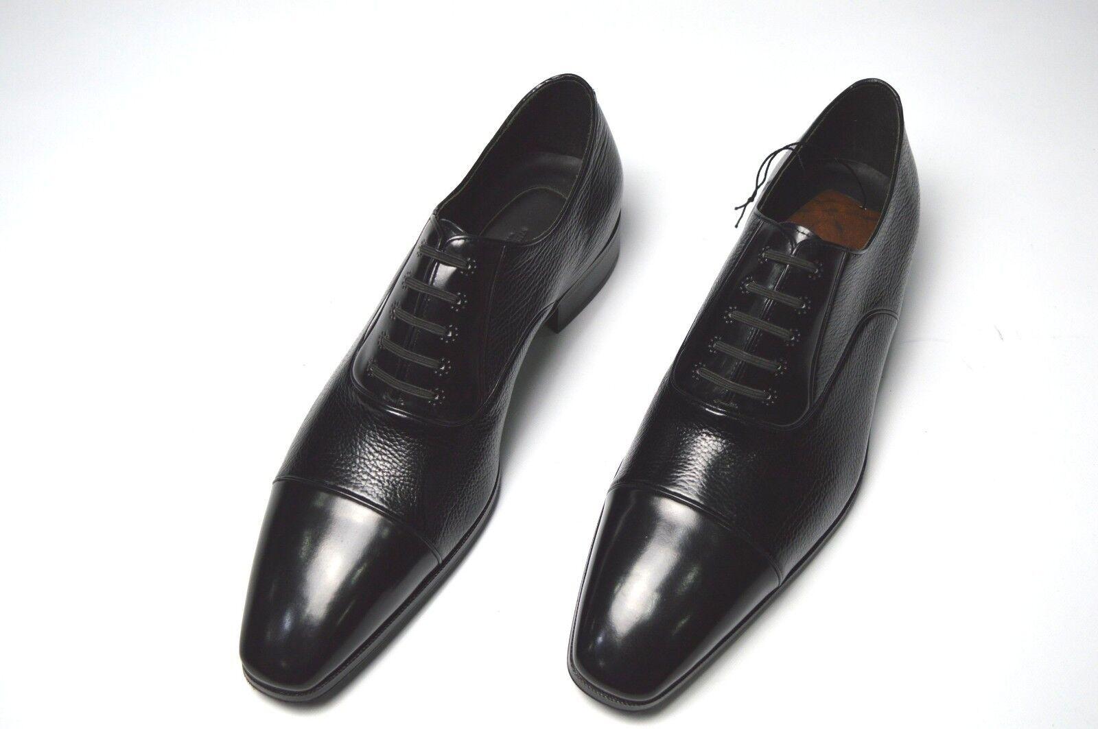 Nuevo vestido de cuero de lujo STEFANO RICCI Zapatos Talla nos 11 (A347)