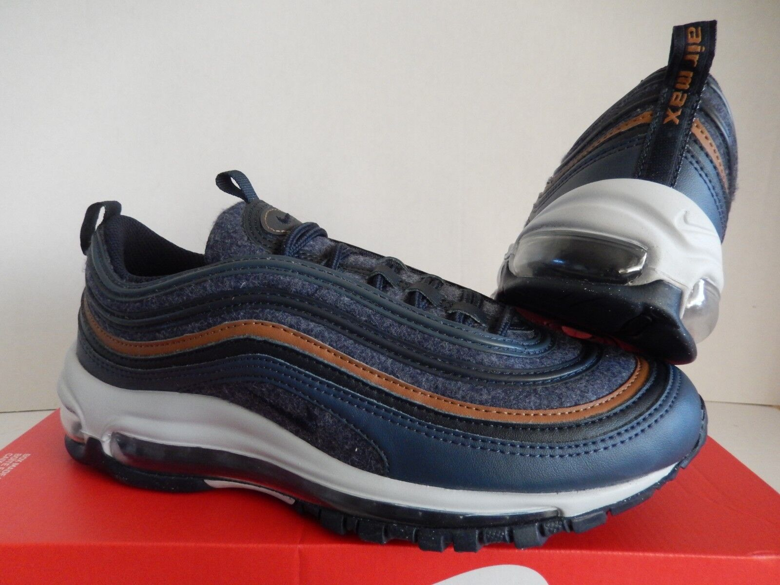 511b61feee6 Nike Air Max 97 SE Big Kids Style 923288 923288-400 Thunder Blue Sz ...