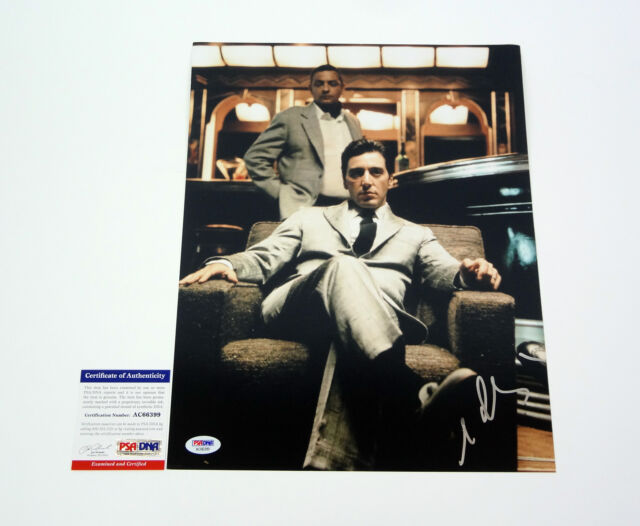 AL PACINO THE GODFATHER SIGNED AUTOGRAPH 11X14 PHOTO PSA/DNA COA #1