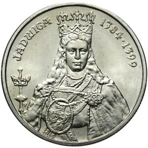 Gedenkmuenze-Polen-100-Zlotych-1988-JADWIGA-1384-1399-Stempelglanz-UNC