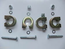 Land Rover Series Steering Bar Track Rod End Ball Joint Clamps Bolts 577898 x 4