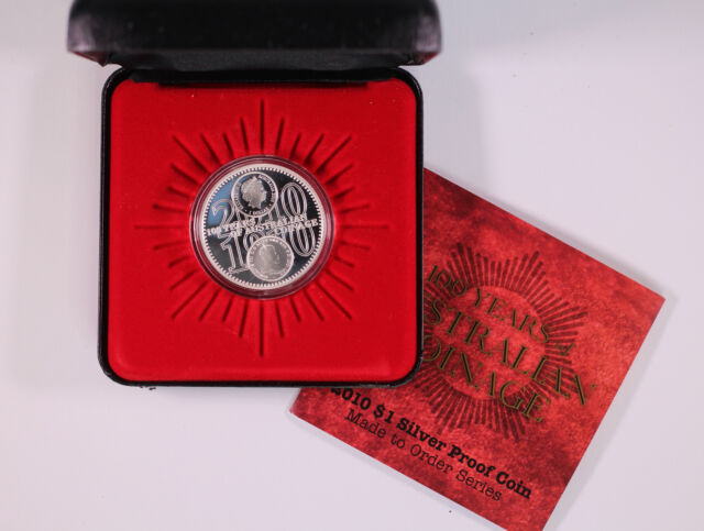 2010 RAM $1 One Dollar 1oz 100 Years of Coinage Silver Proof Coin D11-3525
