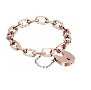 Image Is Loading New Michael Kors Rose Gold Tone Chain Link