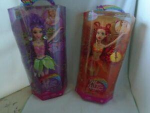 Barbie-Fairytopia-Magic-Of-The-Rainbow-Dolls-034-Sunburst-034-amp-034-Glee-034-NIB