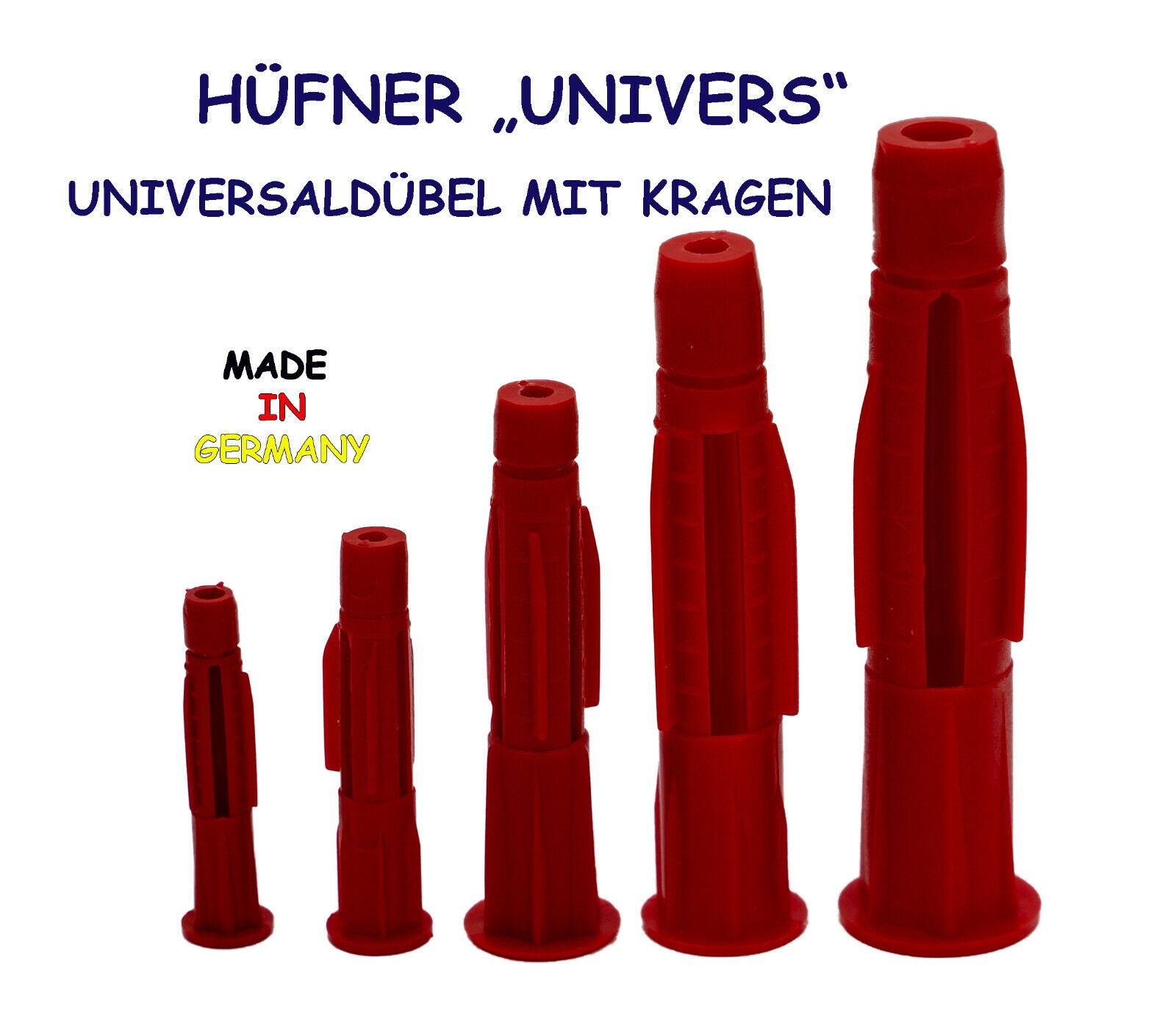 """20 Universaldübel ohne Kragen /""""UNIVERS/"""" 14 mm Stück"""