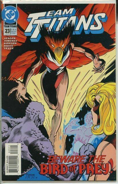 Team Titans #23 Aug 1994 DC Comic Book (VF/NM)