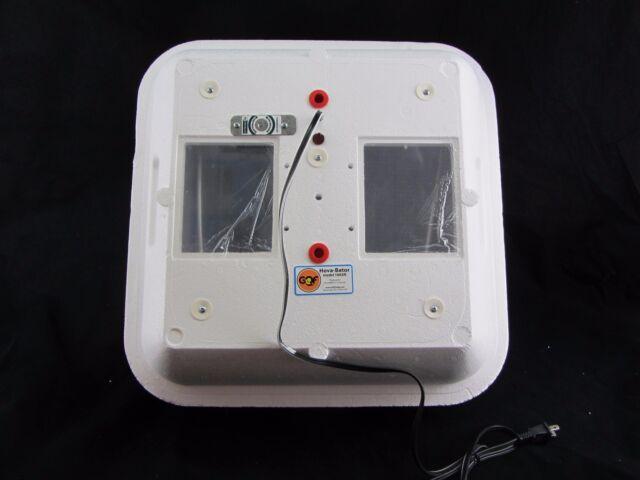 REFURBISHED | HovaBator Still/Thermal Air Egg Incubator 1602N | U189