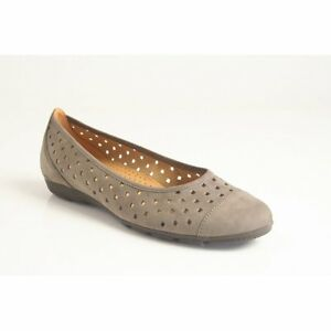 GABOR-of-GERMANY-WOMEN-039-S-BALLET-FLAT-SLIP-ON-PERFORATED-MADE-IN-PORTUGAL