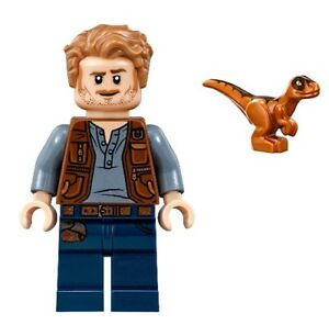 Minifig Figur Dino Dinosaurier Owen 75930 LEGO Jurassic World Claire Dearing