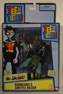 Details about Teen Titans Go! Bumble Bee's Shuttle Buzzer Vehicle Collect &  Connect (MISB)