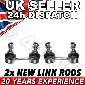 For Toyota Celica 1985-94 FRONT ROLL BAR DROP LINK RODS x 2