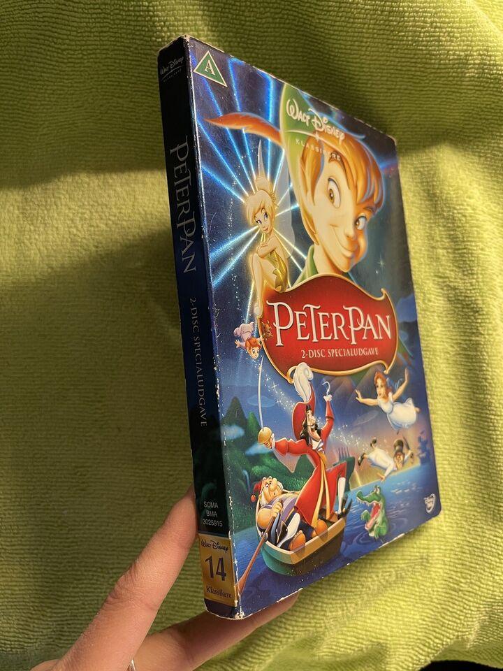 Peter Pan , instruktør Walt Disney klassikere , DVD