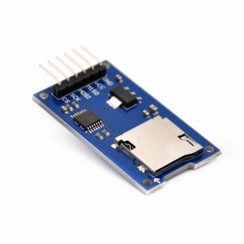 pour Arduino 5v spi Micro sd carte module card reader module