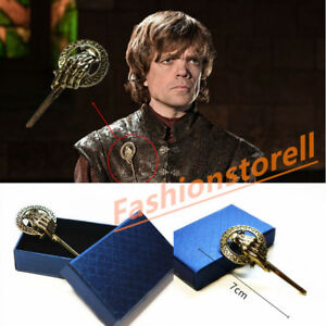 Game-Of-Thrones-Song-of-Ice-Fire-Hand-of-the-King-Badge-Brooch-Pin-with-Gift-Box