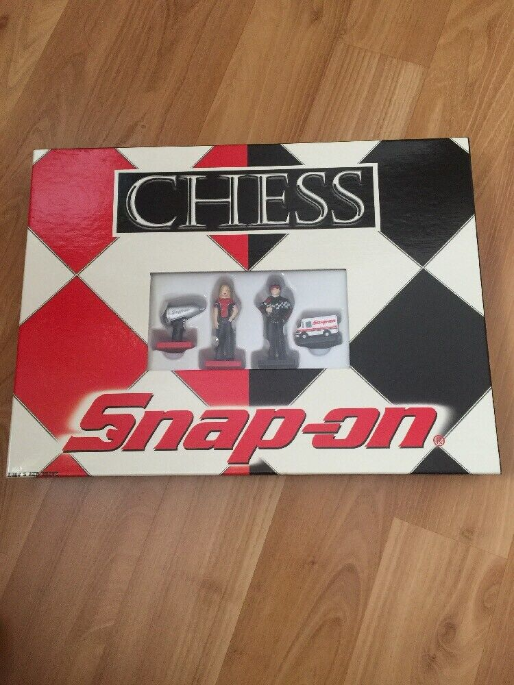 Snap-On Tools Chess set by USAopoly (New in Box)