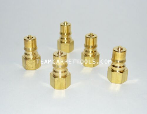 """Carpet Cleaning FOSTER 1//4/"""" Brass Quick Disconnect Male QDs Truckmount Extractor"""