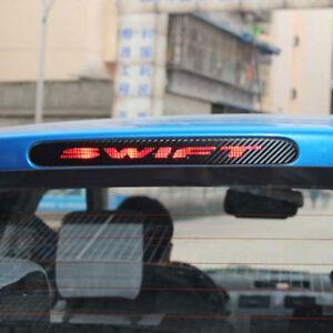 Adesivo-sticker-terzo-stop-luce-freno-EFFETTO-CARBON-per-Suzuki-Swift-stile-B