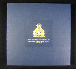 1998-Canada-Maple-Leaf-125th-Anniv-Silver-Coin-amp-Stamps-RCMP-Privy-Set