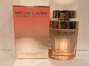 232035d535aa Michael Kors Wonder Lust Eau De Parfum 3.4oz 100ml New In Box Large ...