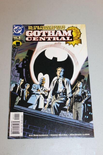 Gotham Central #1 (2003) Brubaker Rucka Batman Spinoff show HBO Max 1st app key
