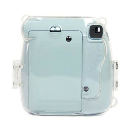PC Cámara Transparente Duro Funda Para Fujifilm Instax Mini 8//9 Polaroid