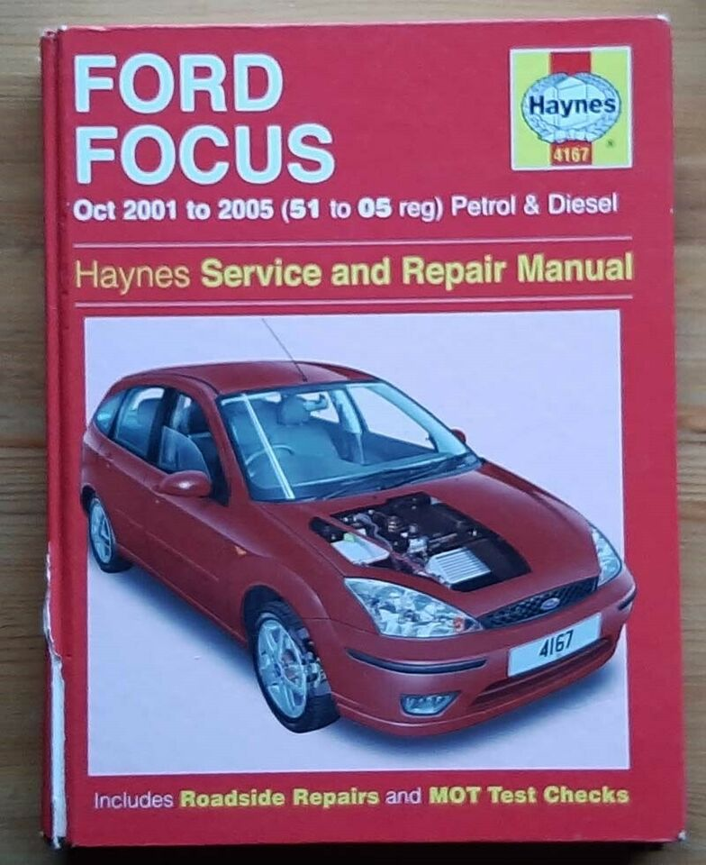 Haynes håndbog nr 4167, Ford Focus 01'-05'