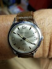 mens vintage 1967 caravelle watch. serviced