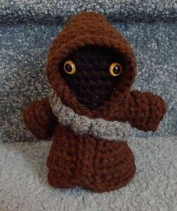 Jawa Star Wars Amigurumi : Amigurumi Hand Crocheted Star Wars Jawa with Weapons Belt ...