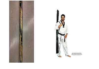 Competition Bo Staff Martial Arts Weapon with Dragon Lightweight Karate Demo 48/""