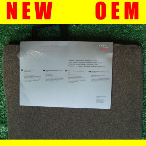 NEW OEM 97 98 99 1997 1998 1999 Audi A8 S8 quattro floor mats Carpet