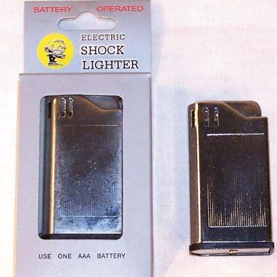 Black Shock your Friends Shock Lighter Gag Prank Toy