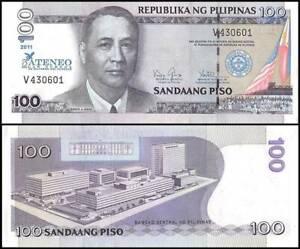 UNC PHILIPPINES 100 PISOS PESOS 2011 P 212 LAW ATENEO 75th COMM