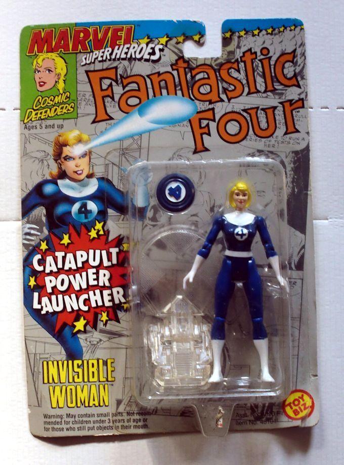Vintage ToyBiz Fantastic Four 4 Invisible femme Action Figure NIB  MOC Rare  achats de mode en ligne