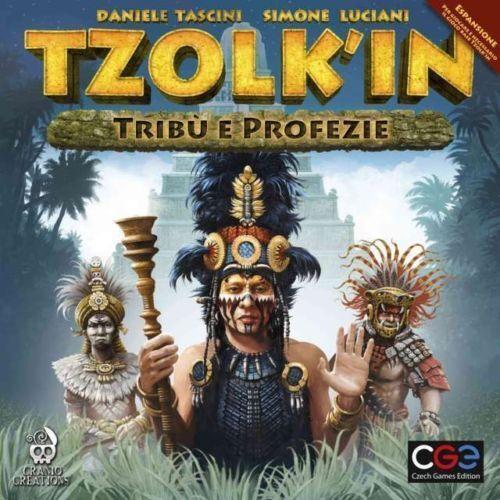 tzolki'in,Stämme und Prophezeiungen,Erweiterung,by Schädel,Italienische Ausgabe