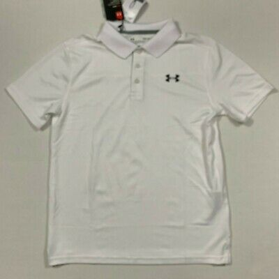 boys under armour collared shirts