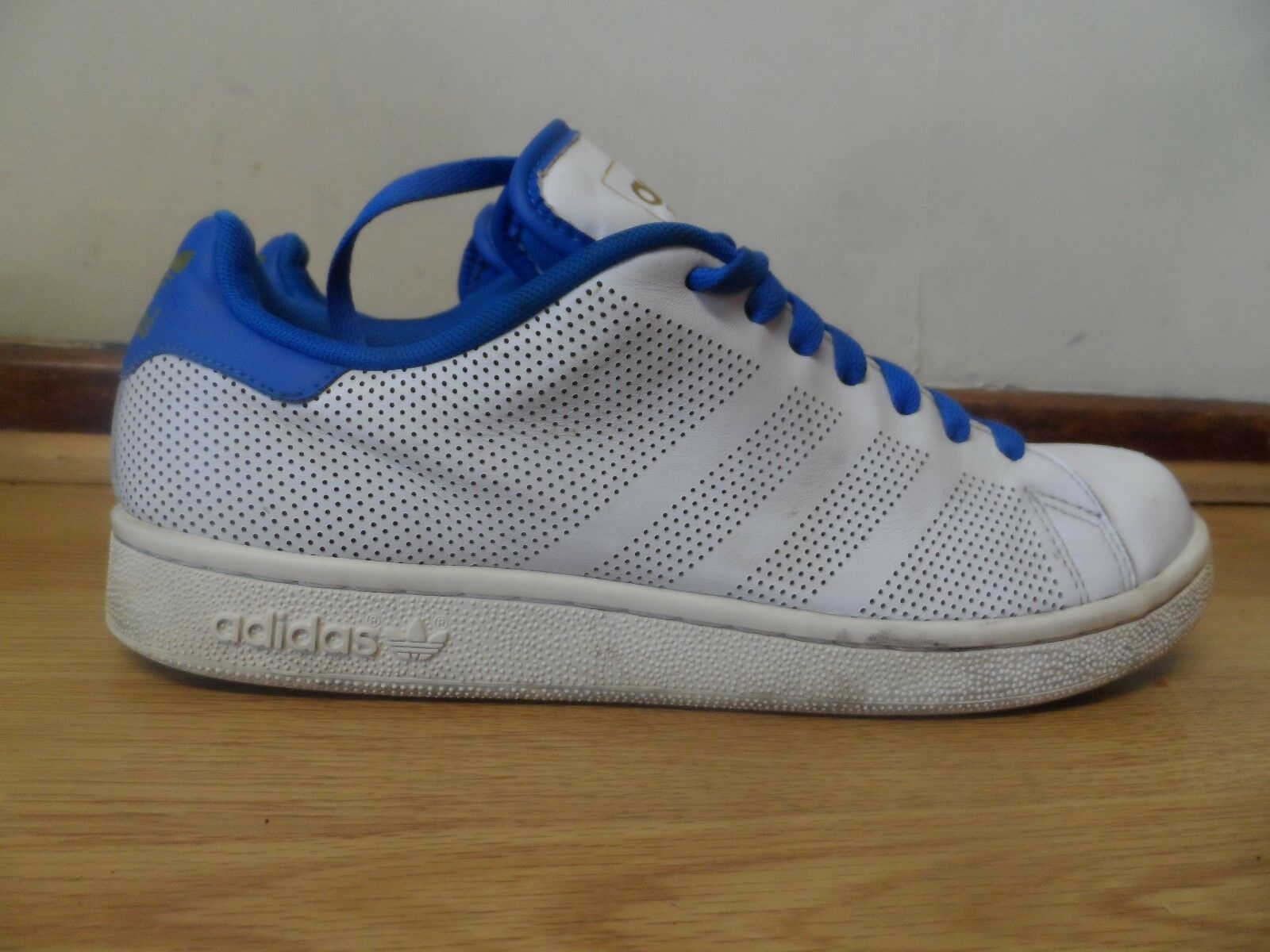 ADIDAS STAN TRAINERS SMITH  MENS WHITE TRAINERS STAN SIZE / MADE IN INDIA fa05c0