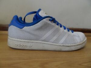 buy popular 521a5 8ebcd Details about ADIDAS STAN SMITH MENS WHITE TRAINERS SIZE UK 8 / EUR 42 MADE  IN INDIA