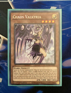 Chaos-Valkyre TOCH-DE008 Super Rare DE NM