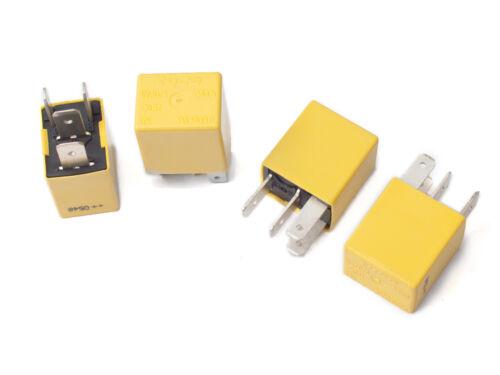 TYCO relay V23073-B1005-X012 12V yellow relay for Land Rover YWB10004 1pc