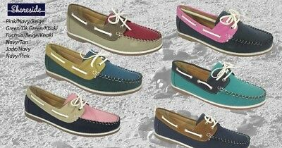 Ladies Seafarer Yachtsman Deck Shoes FREE SHIPPING Lady Deck Shoes  Loathers