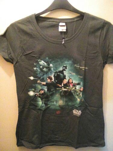 womens Star Wars T shirt rogue size medium 8-10 bnwt L@@K now only £1.00
