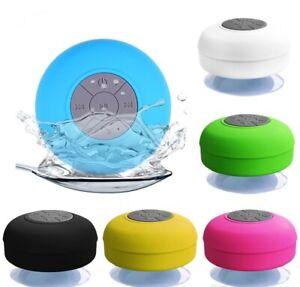 Waterproof-Bluetooth-Wireless-Shower-Speaker-Handsfree-Music-Mic-Suction-Car
