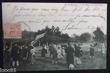 CPA 75 - Bois de Boulogne - La pelouse du Cerf-Volant - 1905 - animée -