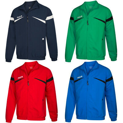 Mitre Polarize Track Jacket Giacca Uomo Sport Fitness Allenamento Giacca T50103 Nuovo-