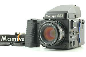 Quasi-Nuovo-Mamiya-M645-SUPER-AE-Prisma-Finder-con-Sekor-C-80mm-f-2-8-N-DAL-GIAPPONE