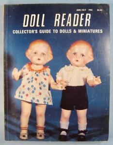 Doll-Reader-Vintage-Collectors-Magazine-June-July-1982-The-It-Doll-By-Amberg-O